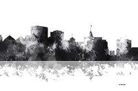 Oakland California Skyline BG 1 Fine Art Print