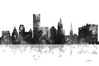 Providence Rhode Island Skyline BG 1 Fine Art Print