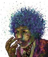 Jimi Hendrix I Fine Art Print