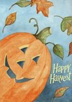 Happy Harvest Pumpkin Fine Art Print