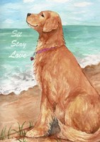 Golden Stay Love Fine Art Print