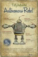 Autonomous Robot Fine Art Print