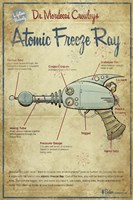 Freeze Ray Fine Art Print
