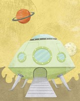 Kids Alien Fine Art Print