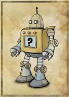 Robot 2 Fine Art Print
