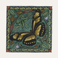 Apple Butterfly Tile Fine Art Print