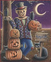 Apple Scarecrow Fine Art Print