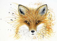 Fox Fire Fine Art Print