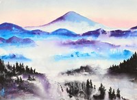 Mountain Mist Landscape Fine Art Print