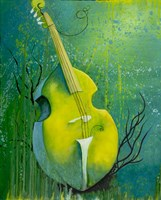 Sunken Dreams Cello Fine Art Print