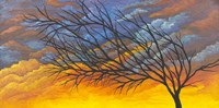 Sunset Tree Fine Art Print