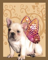 Butterfly Dog 1 Fine Art Print