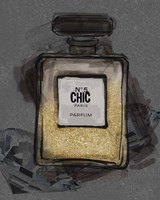 Chic Bottle 4 Fine Art Print