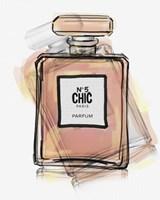 Chic Bottle 5 Fine Art Print