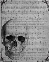 Vintage Skull Fine Art Print