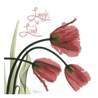 Laugh Out Loud Tulips L83 Fine Art Print