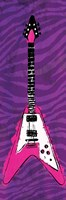Girl Electric Guitar Fine Art Print