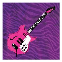 Girly Guitar Mate Fine Art Print
