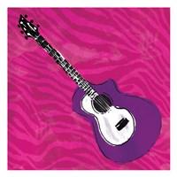 Girls Rock Guitar Fine Art Print