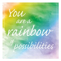 Rainbow Possibilites Fine Art Print