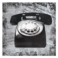 Vintage Phone Fine Art Print