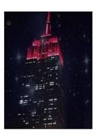Starry Night In New York Fine Art Print