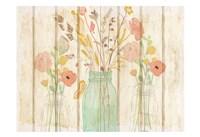 Summer Bloom Jars Fine Art Print