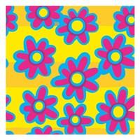 Groovy Love Pattern 3 Fine Art Print