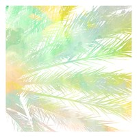 Watercolor Palm 1 Fine Art Print
