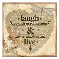 Laugh Fine Art Print