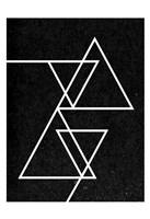 Black Triangle Fine Art Print