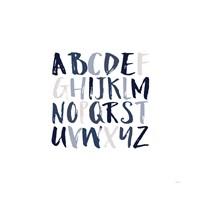 Boy Upper Letters Fine Art Print