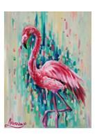 Flamingo Pose 1 Fine Art Print