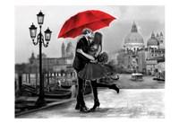 Venice Kiss Fine Art Print