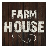 Farm House Fine Art Print