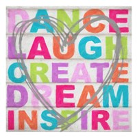 Dance Laugh Fine Art Print