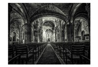 Cuba Church B&W Fine Art Print