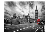 London Doubledecker Fine Art Print