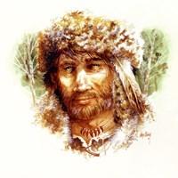 Frontier Man Fine Art Print