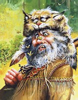 Bugged Mountain Man Fine Art Print
