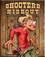 Shooters Hideout Fine Art Print