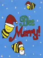 Bee Merry Fine Art Print
