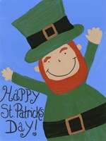 Happy St. Patricks Day Fine Art Print