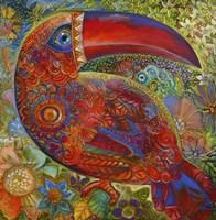 Toucan Deco Fine Art Print