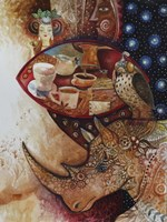Goddess of Coffee Fine Art Print