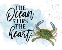 The Ocean Stirs the Heart Fine Art Print