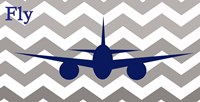 Airplane Fly Fine Art Print