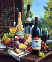 Still Life with Wines Fine Art Print