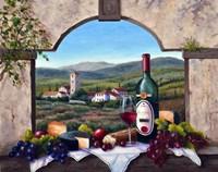 A Tuscany Vista Fine Art Print