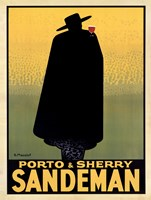 Porto & Sherry Sandeman 1931 Framed Print